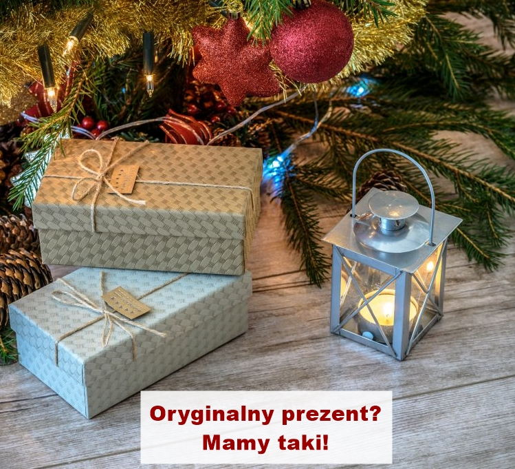 oryginalny prezent