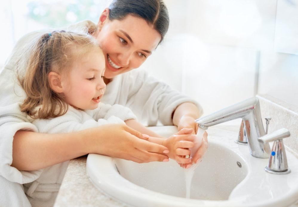 mycie rąk to główna higiena rąk